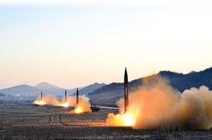 特習會前夕北韓再射導彈