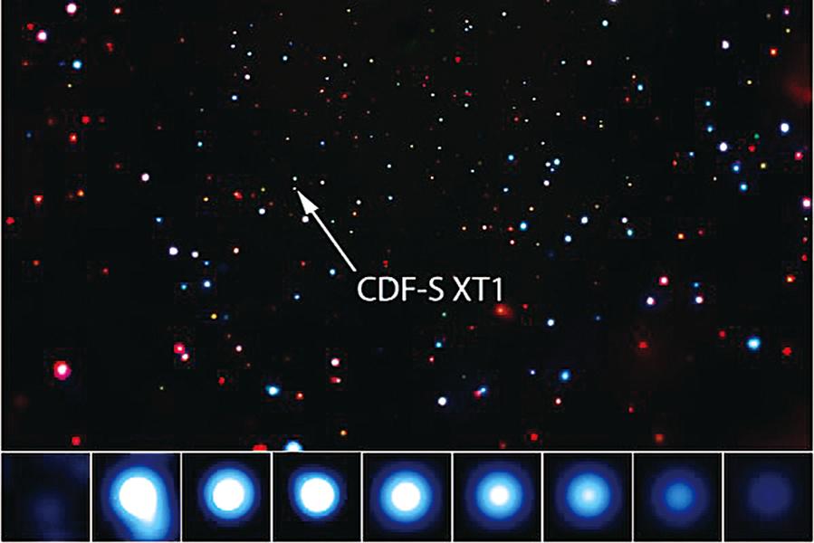 天文學新添神祕現象 一百億光年X射線閃電