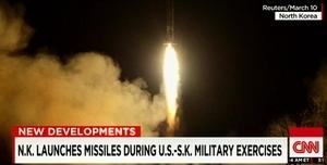 習特會前北韓發射導彈 引發專家推測