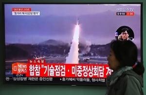 警告金正恩 南韓試射覆蓋北韓全境彈道導彈