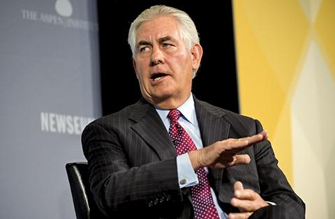 美國國務院周三(5日)宣佈國務卿蒂勒森(Rex Tillerson)將在下周出訪俄羅斯,敘利亞問題或是重要議題之一。(AFP)