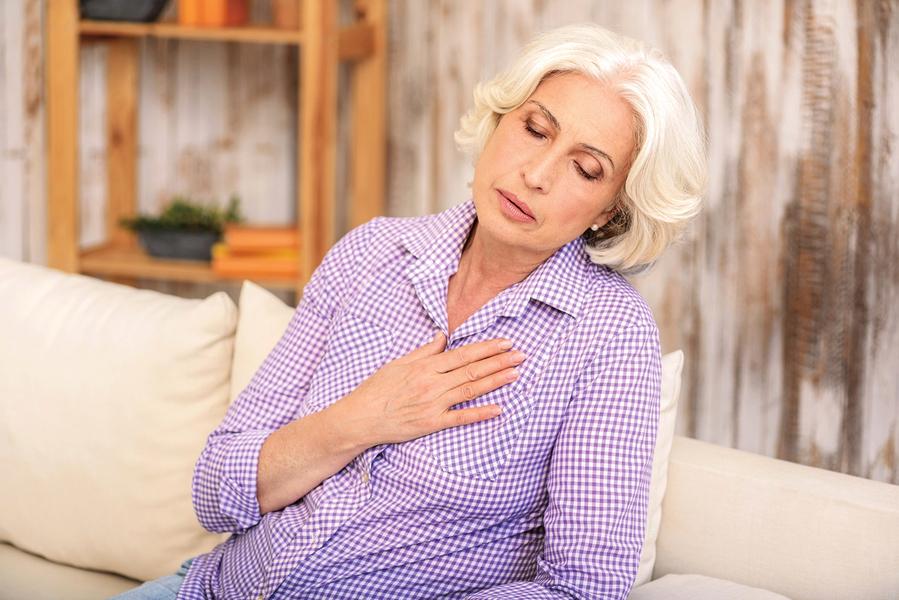 婦女胸悶、喘壓力大換來心碎症候群