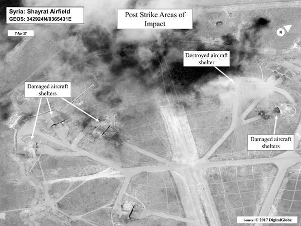 金正恩日前見證了美軍在短短3、4分鐘內發射59枚巡弋導彈空襲敘利亞一空軍基地,完成了定點打擊的目標。德媒表示,美軍的精準打擊,這正是金正恩所擔心的。(美國海軍官網)