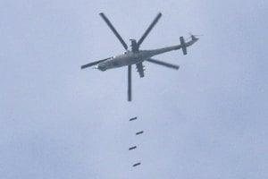 敘利亞遭化武襲擊小鎮再遭空襲 來源不詳