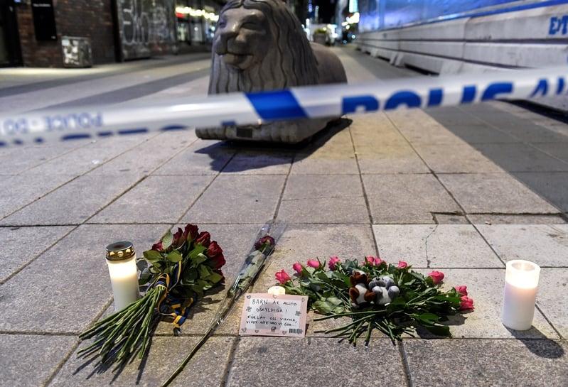 瑞典貨車襲擊後 街道冷清目擊者仍驚恐