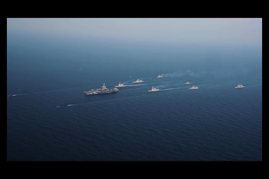 威懾金正恩 美航母戰鬥群前往朝鮮半島