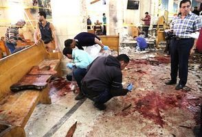 炸彈血洗埃及兩教堂釀百三死傷 IS宣稱犯案