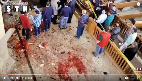 炸彈血洗埃及教堂逾130死傷 IS宣稱犯案