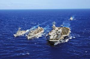 美航母戰鬥群前往朝鮮半島