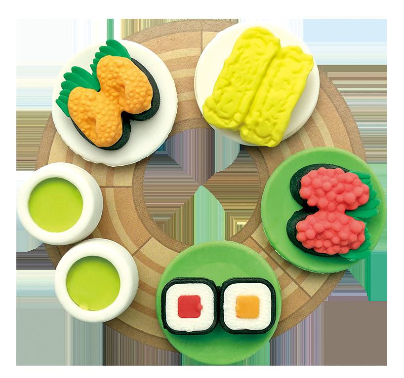 以食品樣本概念所製作的小玩具。(Fotolia)