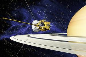 卡西尼號探土星啟動最後任務