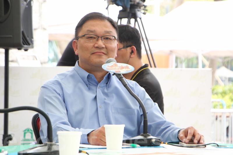 身兼創新科技中心主任的中大工程學院副院長(外務)黃錦輝表示,若I.T.界選舉種票屬實,法官應嚴懲以儆傚尤。(蔡雯文/大紀元)