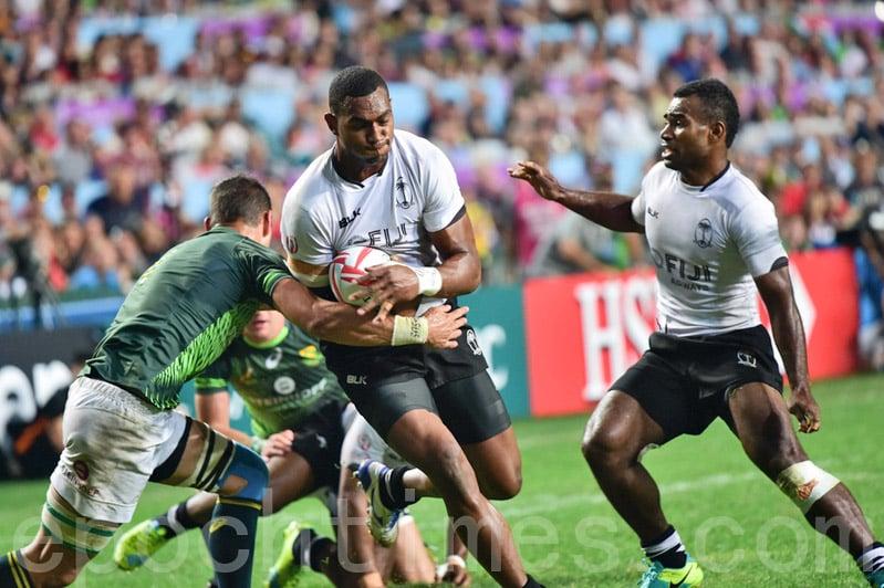 【圖片新聞】七人欖球賽斐濟三連冠