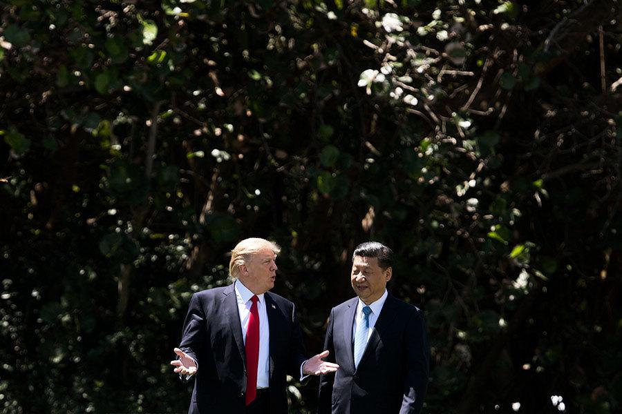 特朗普讚習近平 但警告美朝或有「大衝突」