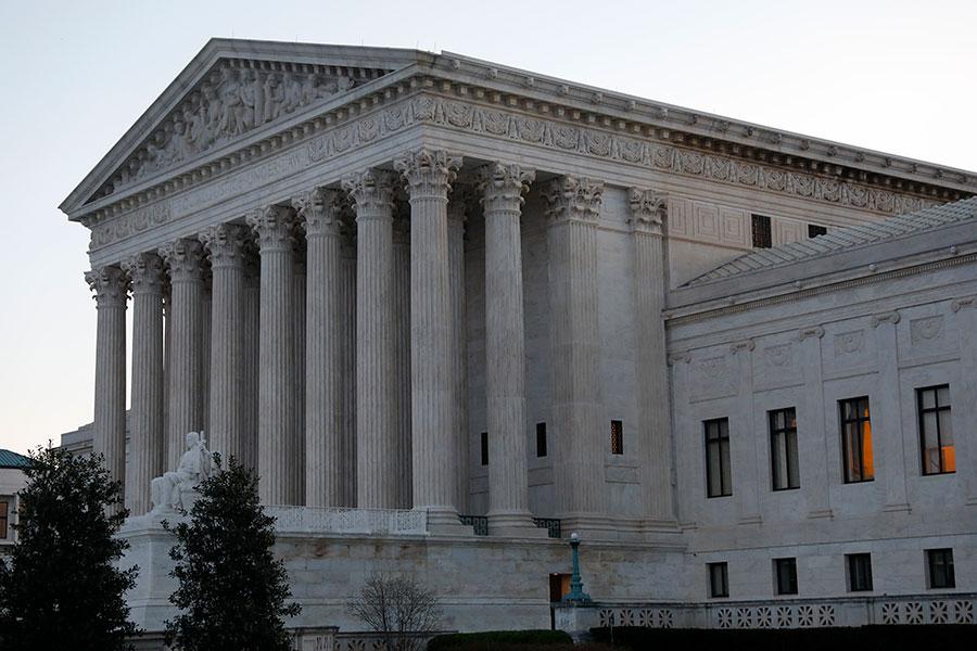 美國最高法院。(Aaron P. Bernstein/Getty Images)