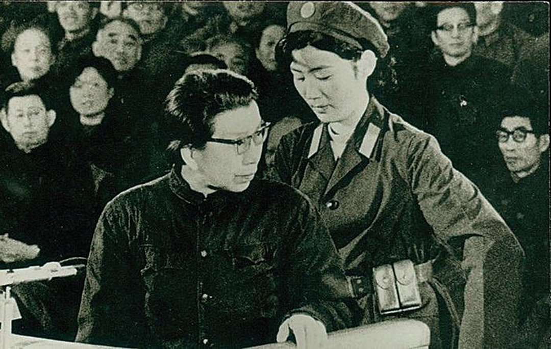 1980年11月20日,由鄧小平操控的中共特別法庭開始「審判」林彪、江青「反 革命集團案」。( 網絡圖片)