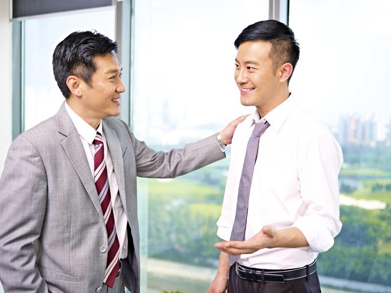 老闆只能給你機會不能給你榮華富貴