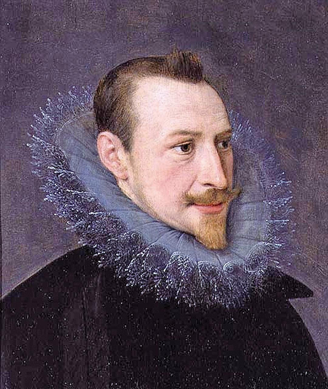 埃德蒙•斯賓塞(Edmund Spenser)畫像(維基百科)