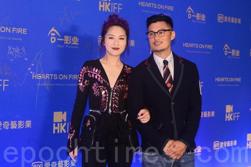 楊千嬅與余文樂合作的電影《春嬌救志明》題材貼地。(宋碧龍/大紀元)