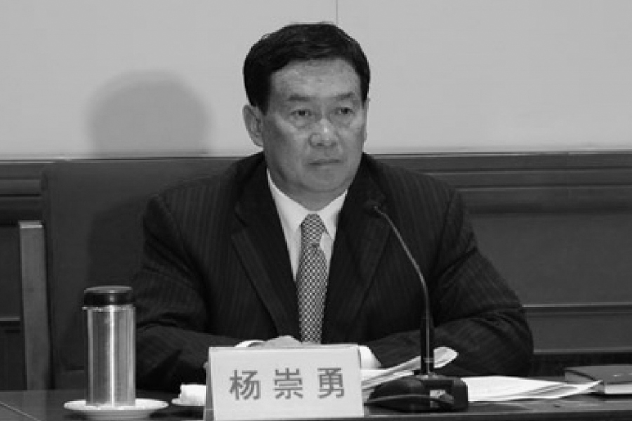 4月11日,中共河北人大常委會黨組書記、副主任楊崇勇被審查。(網絡圖片)