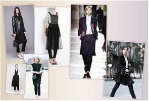 【時尚潮流】褲子+裙子 Skirt over pants 混搭風再度風靡時尚圈
