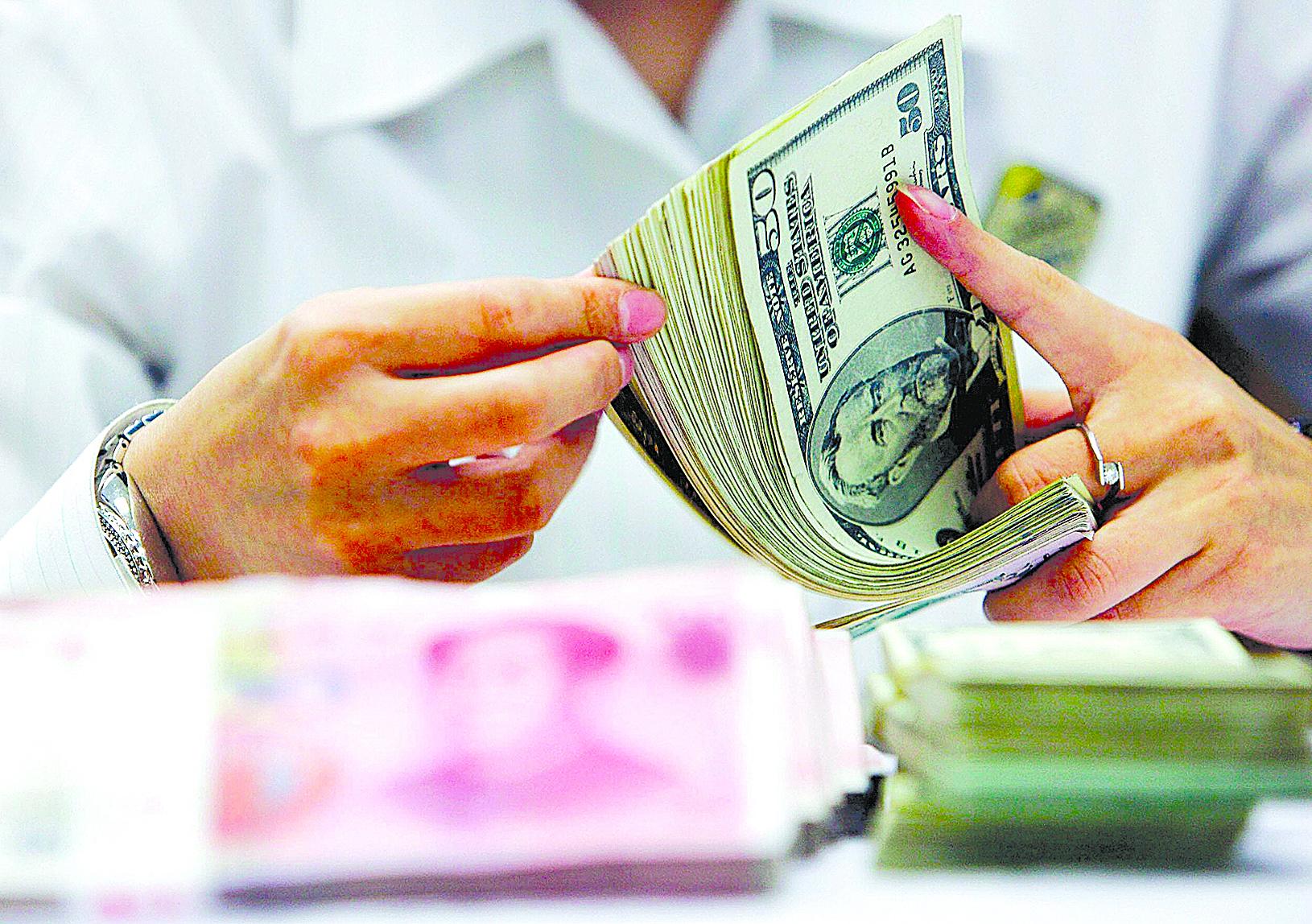 人民幣在國際貿易結算中佔比不升反降。(Getty Images)