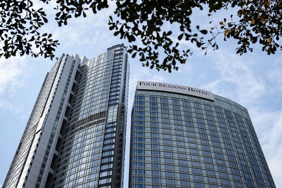 陸媒起底香港四季酒店:隱藏中國一半秘密