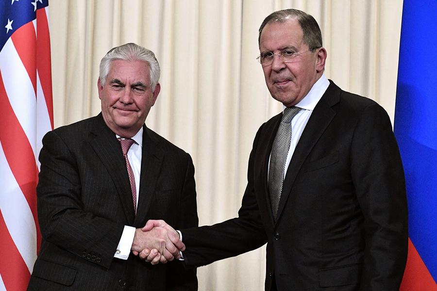 美俄外長會 蒂勒森向俄外長傳「特殊」問候