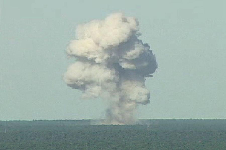 打擊阿富汗IS 美軍首次投下最強大非核炸彈