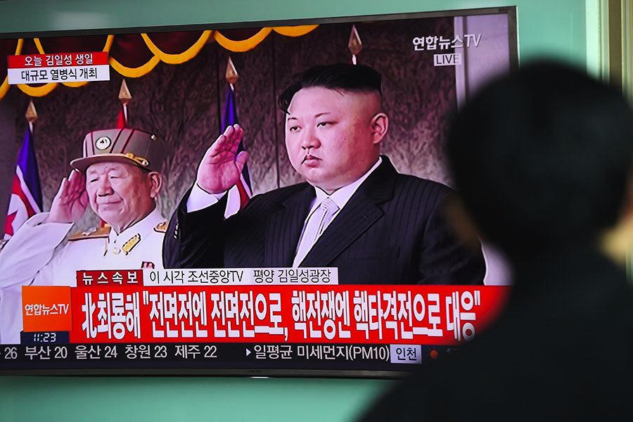 北韓閱兵儀式 中共高官未出席