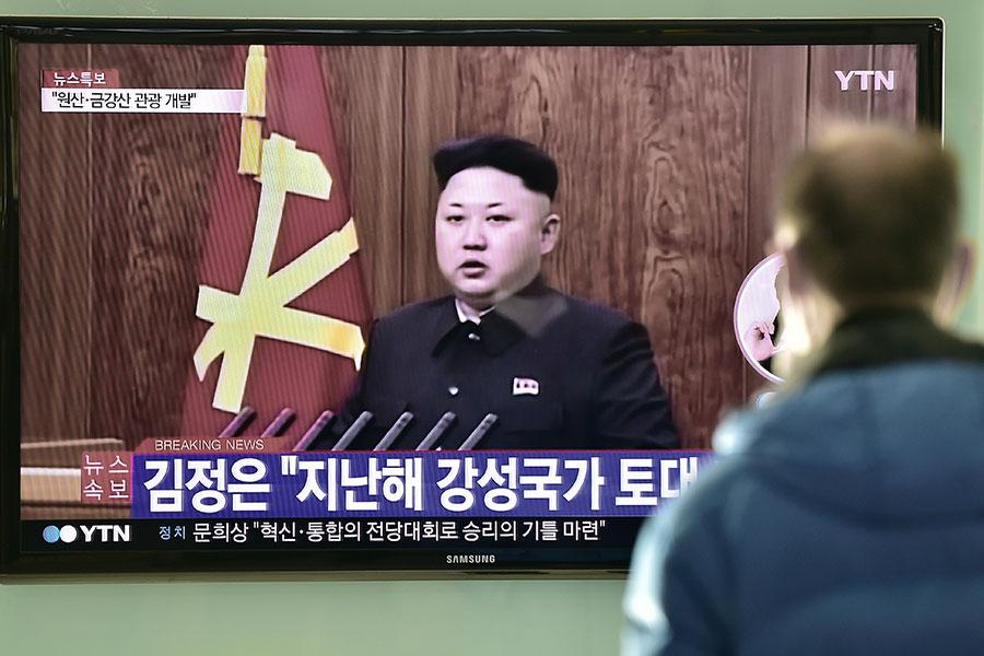 北韓領導人金正恩被指殘暴無比,先後殺害了姑父張成澤、哥哥金正男;整肅了包括總參謀長李英浩等在內的一大批高官。(AFP)