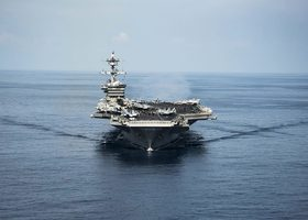 美派赴朝鮮半島航母姍姍來遲 專家批評
