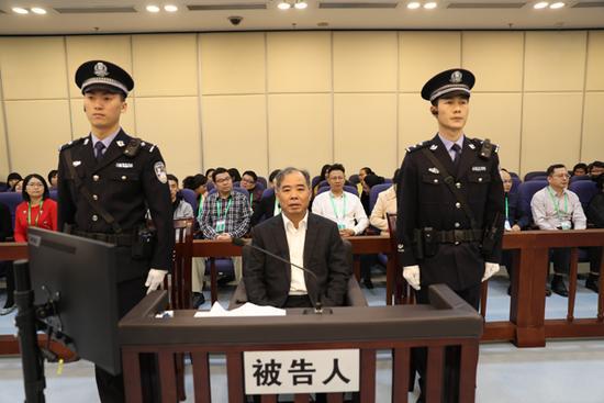 中共浙江省寧波前市長盧子躍4月14日被控受賄逾1.47億元。(視像擷圖)