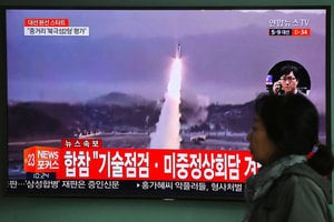 北韓再射導彈 美俄加強應對