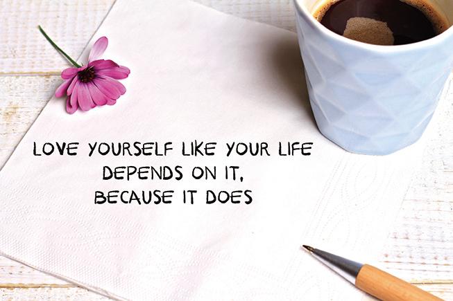 相信自己是獨一無二的生命