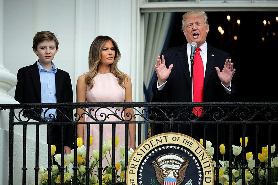特朗普幼子將入住白宮 今秋就讀學費昂貴名校