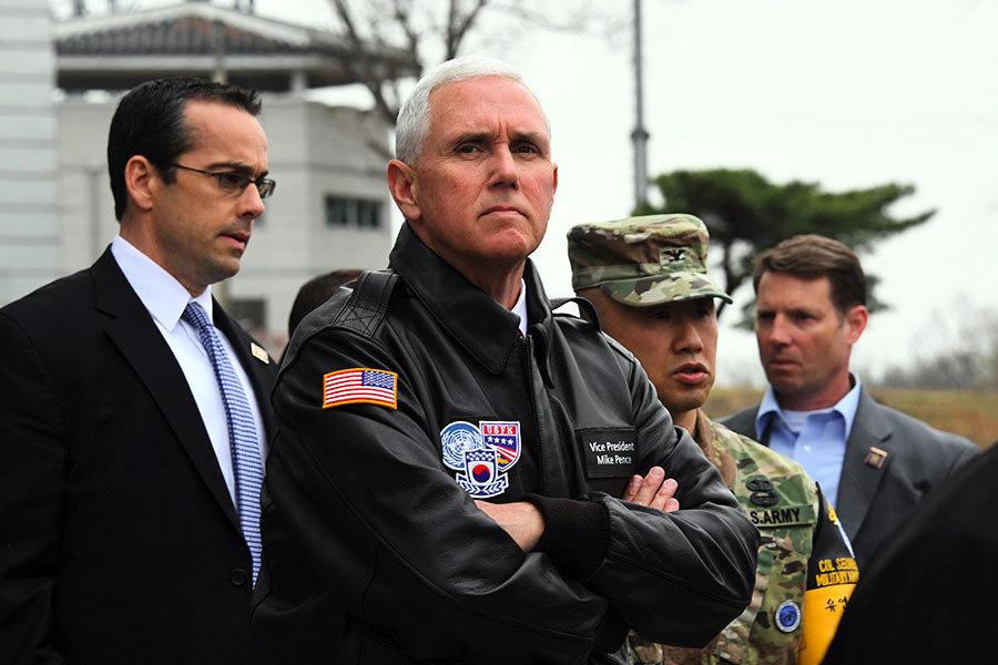組圖:美國歷屆總統和副總統訪問板門店