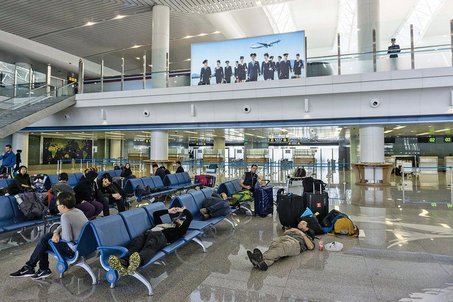 外國記者 被困北韓機場逾九小時