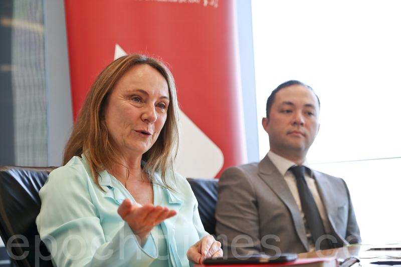 瀚亞投資首席投資總監Virginie Maisonneuve表示,現時中國大陸經濟增長為6.9%可能因得到技術性支持,但對於中長期而言或可能錄得進一步放緩。(余鋼/大紀元)