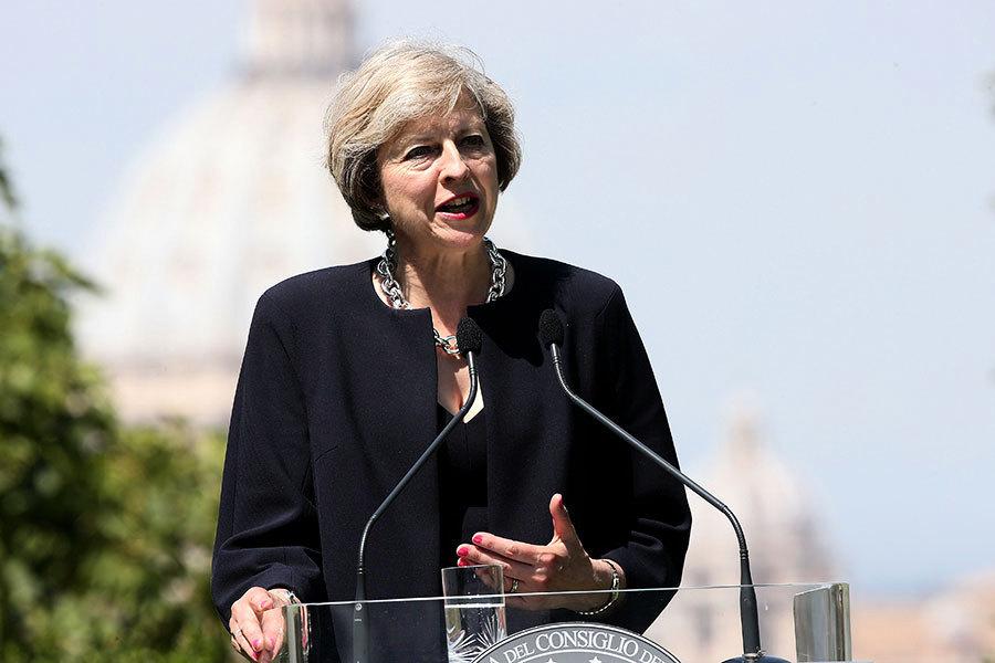 英意外宣佈提前大選 歐盟密切關注