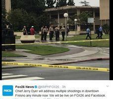 加州男子當街開十六槍 三白人男子遇難