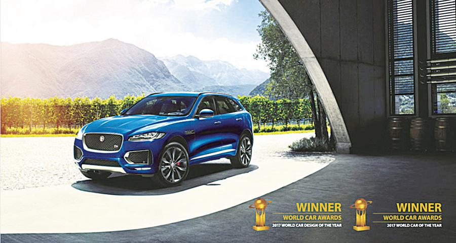 紐約國際車展 Jaguar F-Pace獲世界年度車、世界年度最佳設計雙料冠軍
