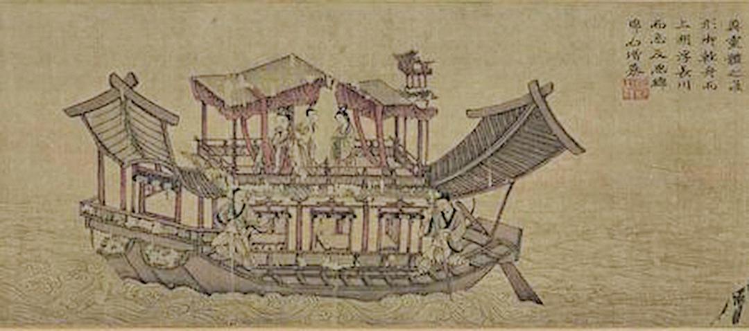 東晉顧愷之〈洛神賦〉局部(公有領域)