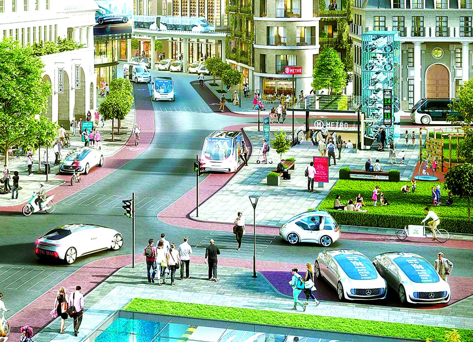 汽車製造商戴姆勒和工業巨頭博世,共同開發自動駕駛的士項目。「Robotaxis」。(daimler.com)