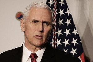 彭斯:美國不會尋求和北韓談判