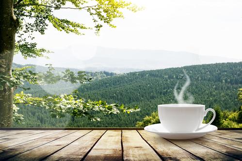 傳說喝「穀雨茶」清火、辟邪、明目。(fotolia)