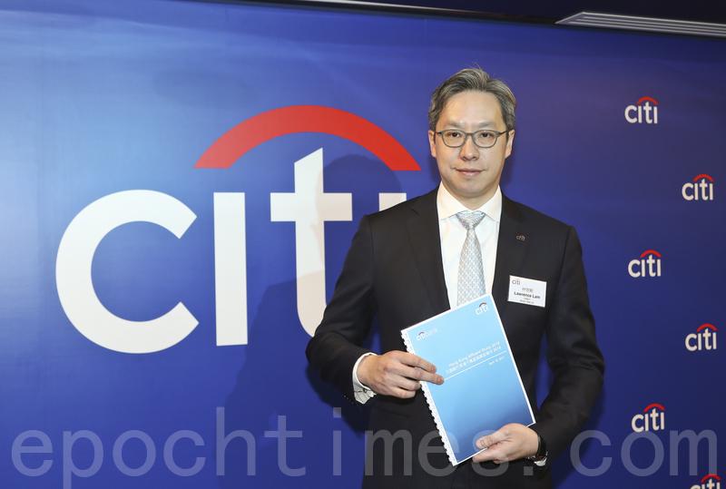 花旗香港董事總經理林智剛表示,千萬富翁人數大增或與去年投資市場理想有關。(大紀元資料室)