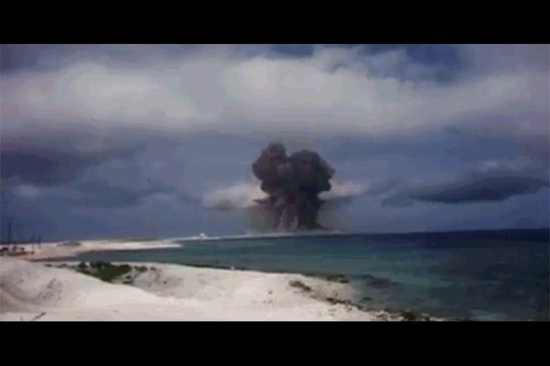 斯普里格斯希望,通過解密這些片段,並作為有效的威懾力量,警告其它國家不要使用大規模毀滅性武器。(視像擷圖)