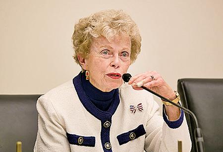 美國國務院前助理國務卿紹爾布賴(Ellen Sauerbrey)( 李莎/大紀元)