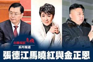 北韓核試危機系列報道  張德江馬曉紅與金正恩